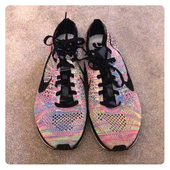 Women Rainbow Nike Running Shoes   Poshmark